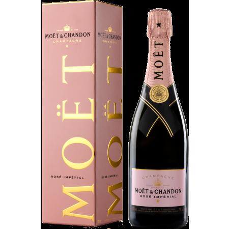 Moet & Chandon Rosé Impérial in Geschenkpackung 0,75l